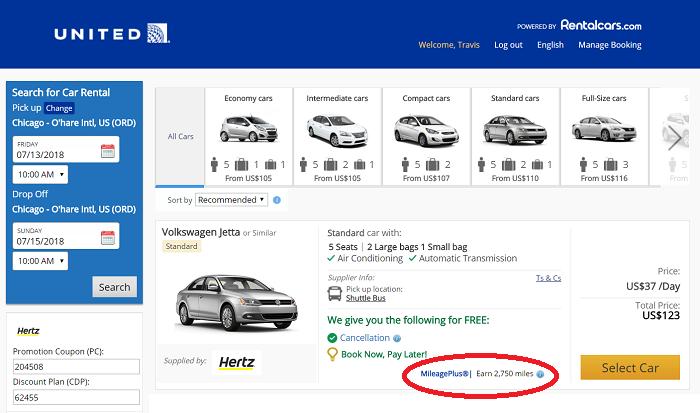 Hertz And United Slash Lucrative One-Day Rental Car Promo