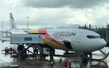 Air Belgium A340 Business Class – 11
