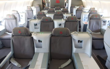 Air Belgium A340 Business Class – 2