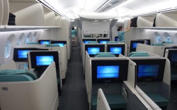 Korean Air 787 First Class – 1