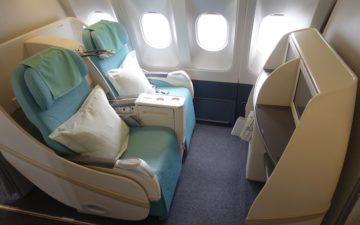 Korean Air A330 First Class – 2