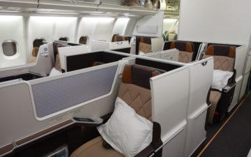 Oman A330 Business Class – 1