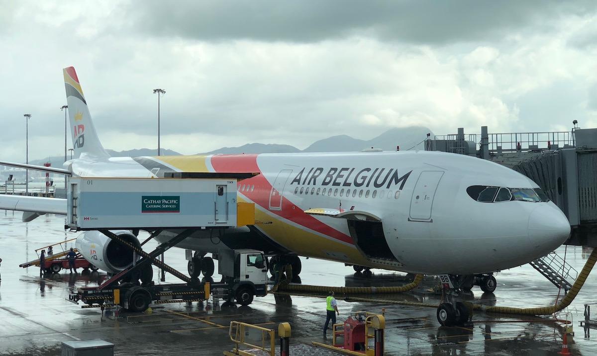 Air Belgium Business Class 91 1