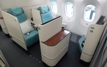 Korean Air First Class 787 – 5