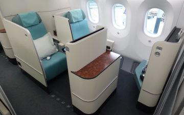 Korean Air First Class 787 – 5