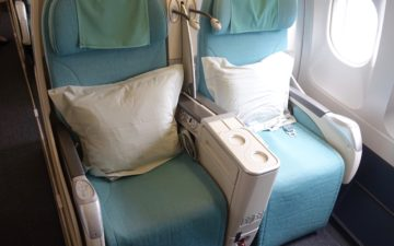 Korean Air First Class A330 – 3