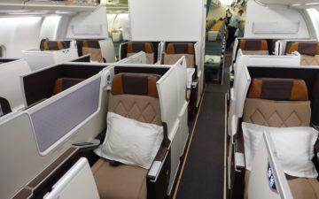 Oman Air Business Class A330 – 2