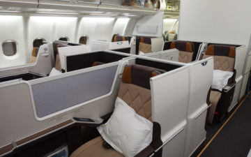 Oman Air Business Class A330 – 3