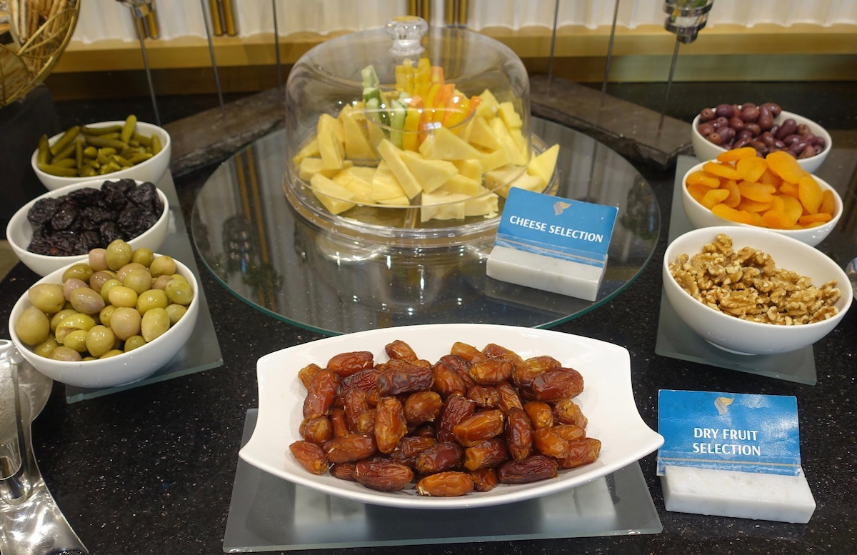 Oman Air Business Lounge MCT Review I One Mile At A Time