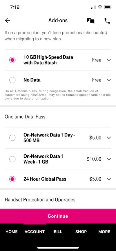 T-Mobile's New $5 Global Pass: Frustrating To Use | One Mile