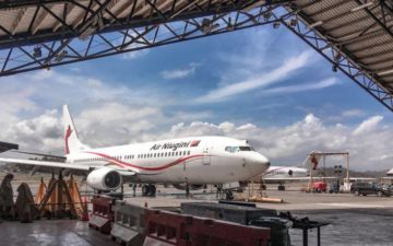 Air Niugini 737