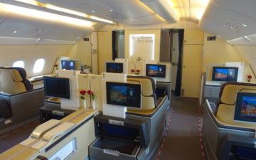 Lufthansa First Class A380 – 1