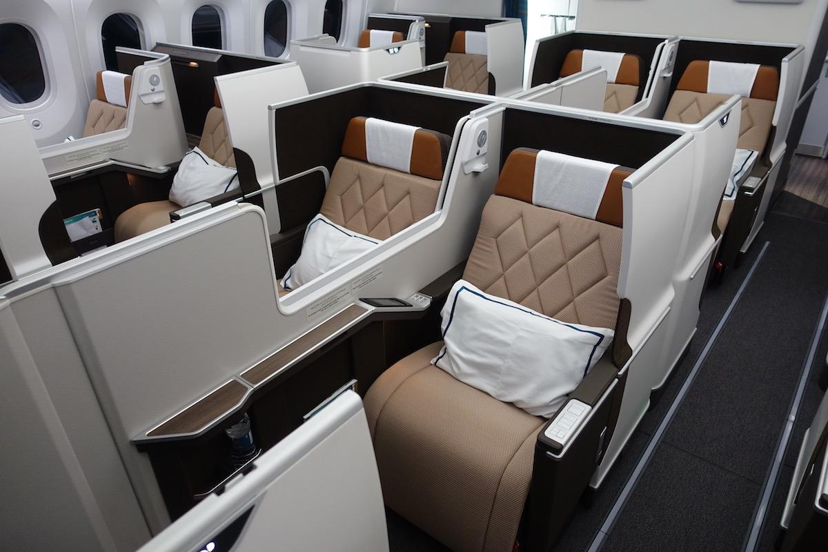 Oman Air First Class 787 1