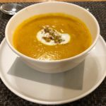 Qantas Lounge Menu – 3