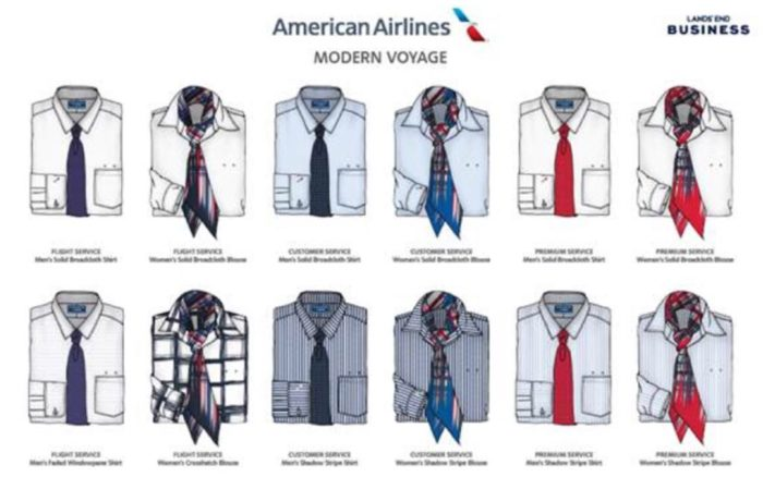 American Airlines Employees Have Selected Their New Uniform Design
