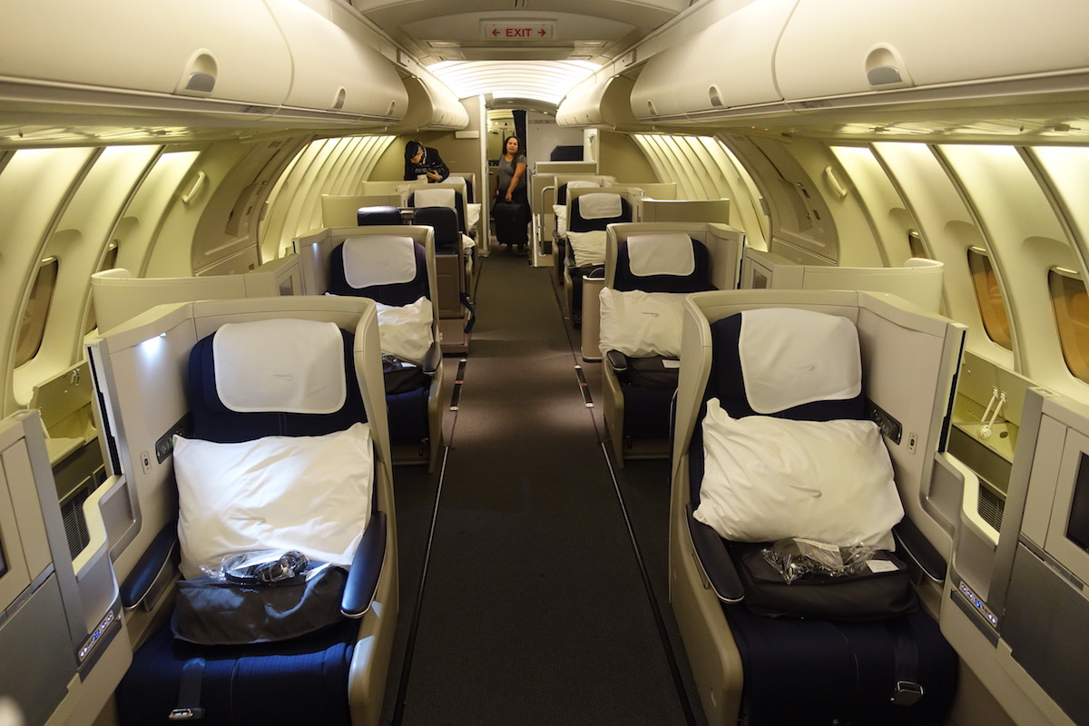 British Airways 747 Business Class Surprisingly Great One Mile At A Time