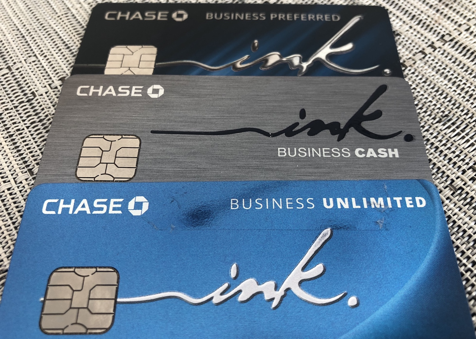 How & Why To Get All Three Chase Ink Credit Cards  One Mile at a Time