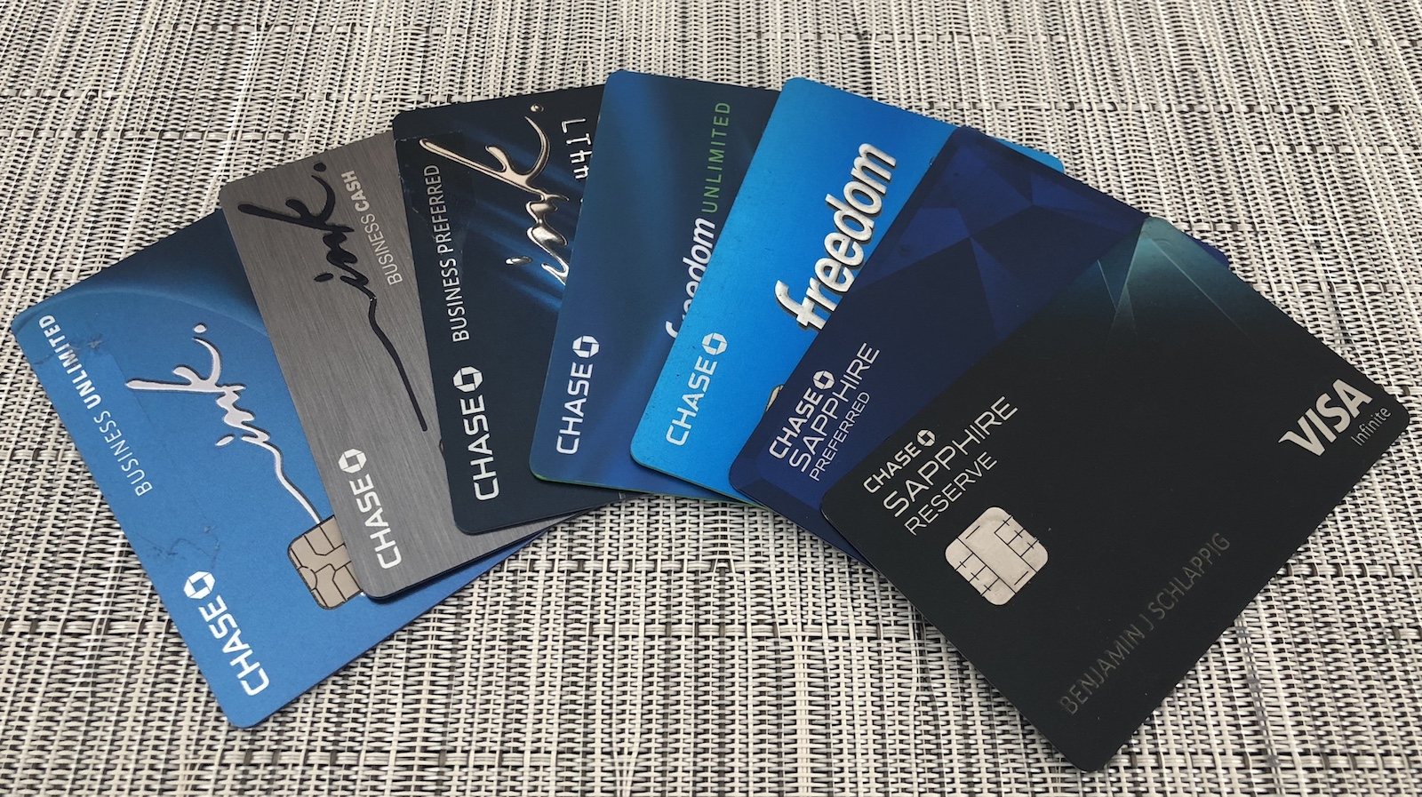 Chase Credit Cards 5