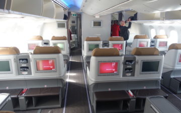 Kenya Airways 787 Business Class – 1