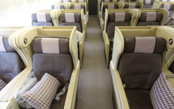 Singapore Airlines A330 Business Class – 10