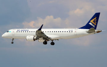 Air Astana Emb190
