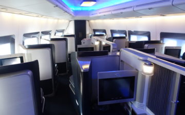 British Airways 747 First Class – 2