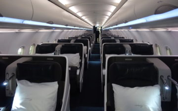 British Airways A318 Business Class – 1