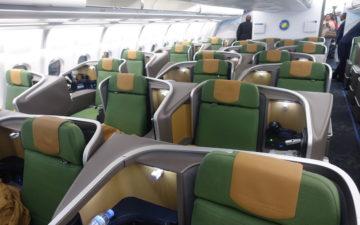 Rwandair A330 Business Class – 1