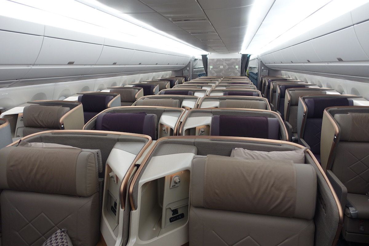 Singapore Airlines Business Class A350 5