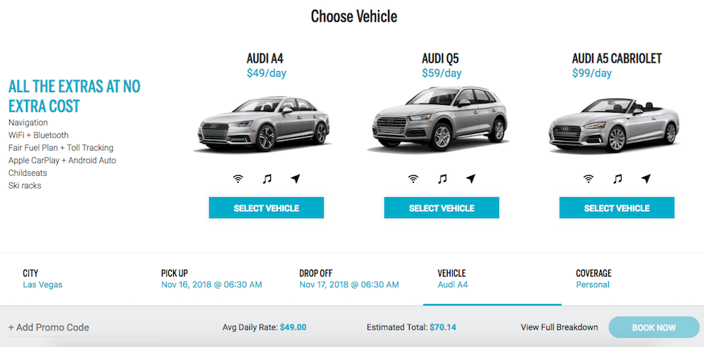 Changes To The Chase Sapphire Reserve Silvercar Discount | One Mile