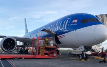 Air Tahiti Nui 787 Business Class – 1