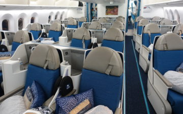 Air Tahiti Nui 787 Business Class – 3