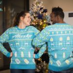 Alaska Airlines Holiday Sweater