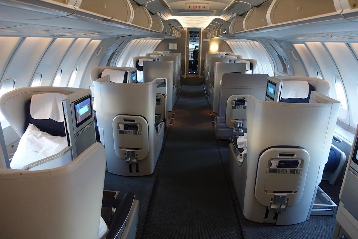 Review British Airways Club World 747 London To New York