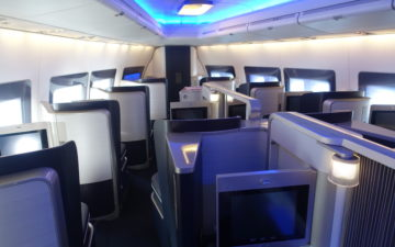 British Airways First Class 747 – 2