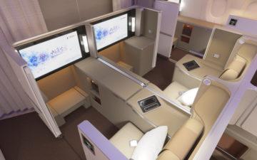 Business Class Of Ceas A350