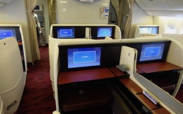 Japan Airlines 777 First Class – 2