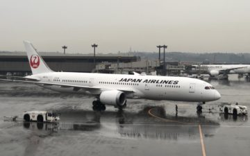 Japan Airlines 787 1