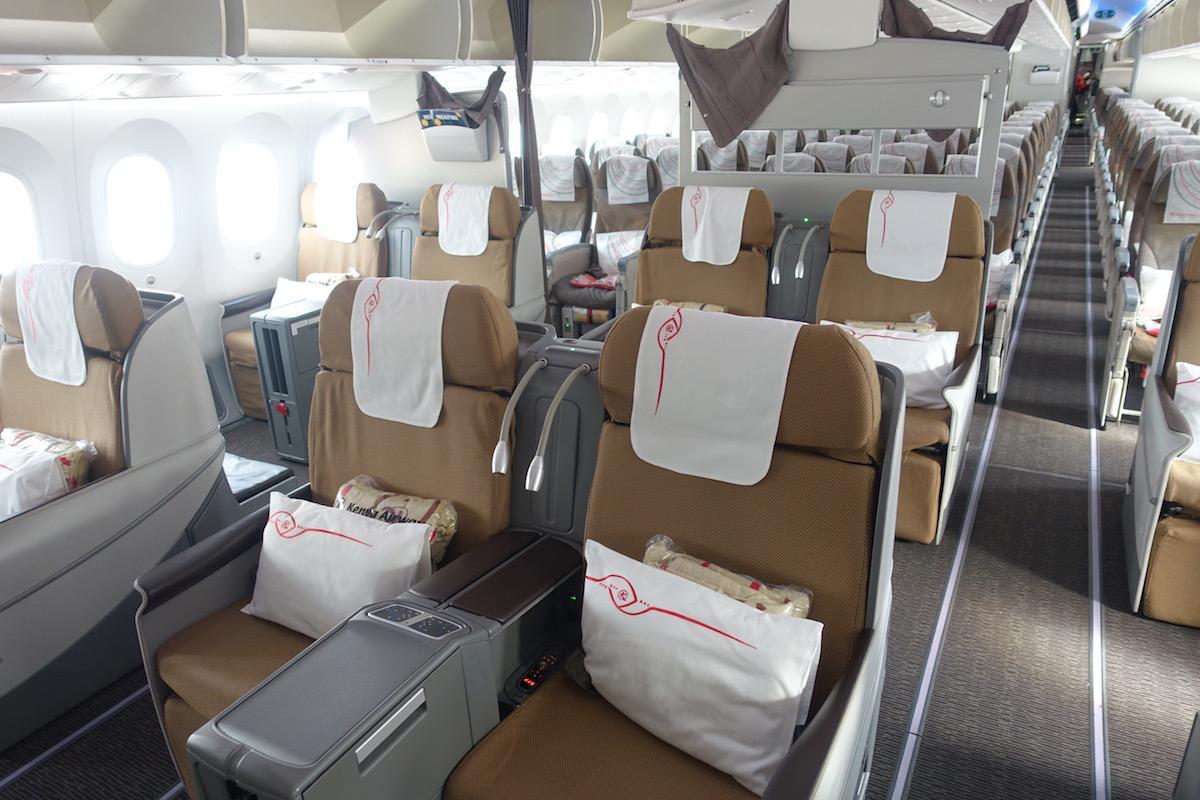 Review: Kenya Airways Business Class 787 New York To Nairobi