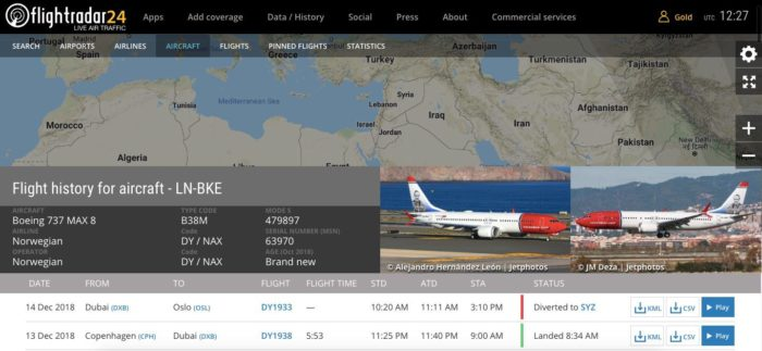 What Happened To The Norwegian 737 That Diverted To Iran