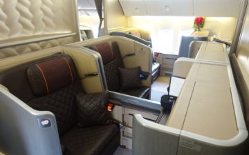 Singapore 777 First Class – 1