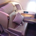 Singapore A350 Business Class – 3