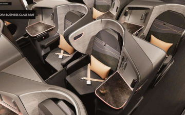 Turkish New Business Class Seat 1