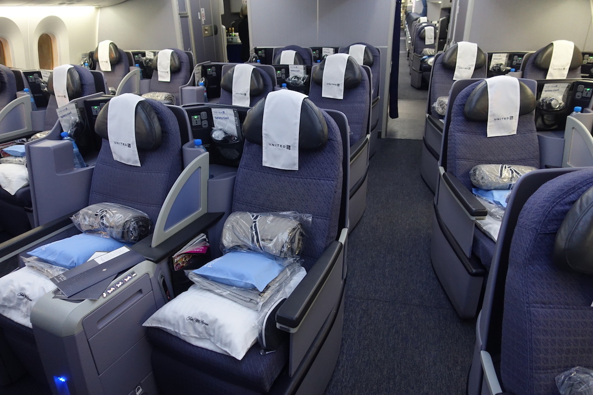 When Will United Reconfigure 787s With New Polaris Seats