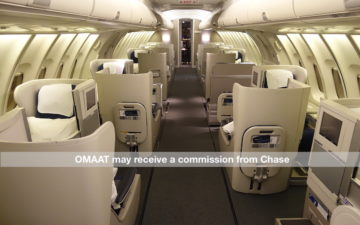British Airways 747 Business Class Watermark