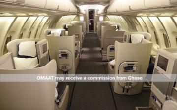 British Airways 747 Business Class Watermark