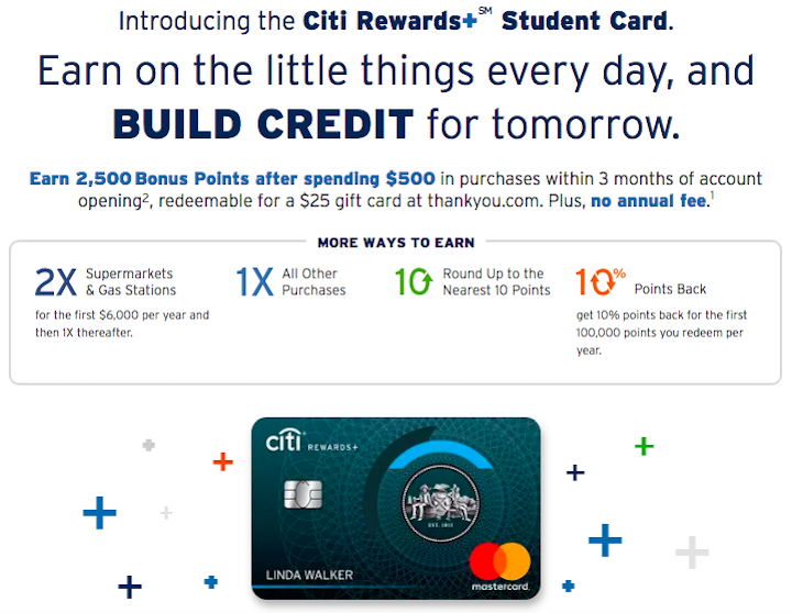 New Citi+ Rewards Student Credit Card  One Mile at a Time