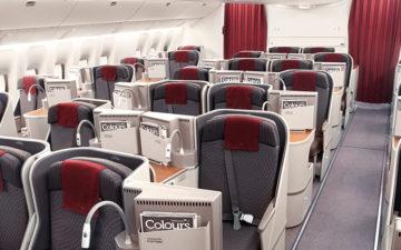 Garuda Indonesia Business Class 777