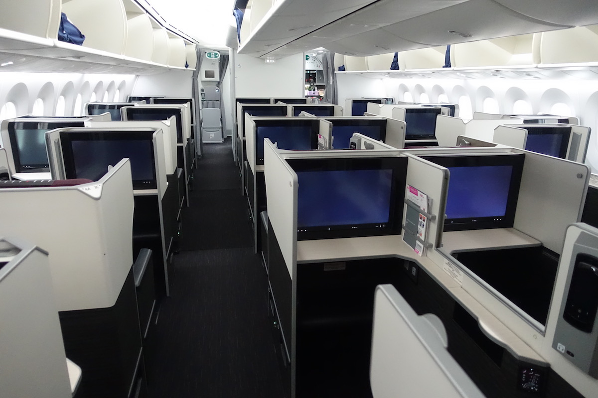 Japan Airlines 787 Business Class 1