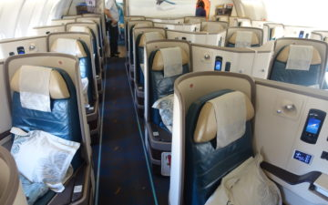 Srilankan Airlines A330 Business Class – 1